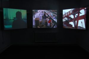 Mr Democracy video installation3